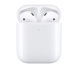 Apple NEW AirPods 2019 z bezprzewodowym etui ładującym (MRXJ2ZM/A)