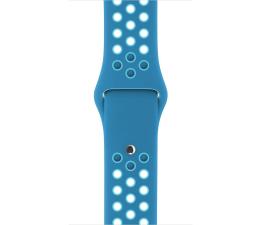 Apple Pasek Sportowy Nike 38mm Blue Orbit/Gamma Blue (MQ2N2ZM/A)