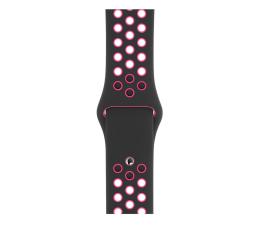 Apple Pasek sportowy Nike czarno różowy 40 mm  (MWU72ZM/A)
