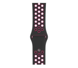 Apple Pasek sportowy Nike czarno różowy 44 mm (MWUC2ZM/A)