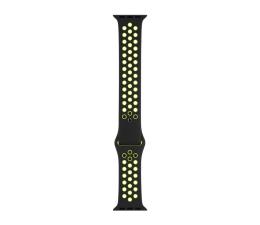 Apple Pasek sportowy Nike czarny/zielonożółty 44mm (MTMW2ZM/A)