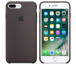 Apple Silicone Case do iPhone 7 Plus/8 Plus Cocoa (MMT12ZM/A)