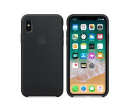 Apple Silicone Case do iPhone X Black (MQT12ZM/A)