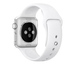 Apple Silikonowy do Apple Watch 38 mm biały (MJ4E2ZM/A)