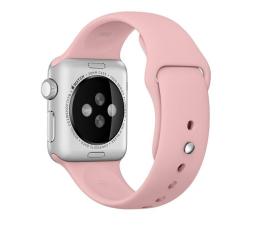 Apple Silikonowy do Apple Watch 38 mm bladoróżowy (MLDG2ZM/A)