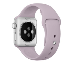 Apple Silikonowy do Apple Watch 38 mm lawendowy (MLKV2ZM/A)