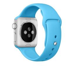 Apple Silikonowy do Apple Watch 38 mm niebieski (MLDA2ZM/A)
