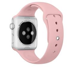 Apple Silikonowy do Apple Watch 42 mm bladoróżowy (MLDR2ZM/A)