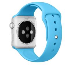Apple Silikonowy do Apple Watch 42 mm niebieski (MLDL2ZM/A)