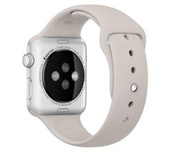 Apple Silikonowy do Apple Watch 42 mm piaskowy (MLKY2ZM/A)