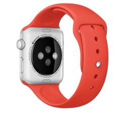 Apple Silikonowy do Apple Watch 42 mm pomarańczowy (MLDK2ZM/A)
