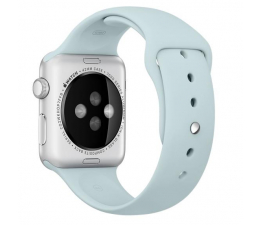 Apple Silikonowy do Apple Watch 42 mm turkusowy (MLDT2ZM/A)