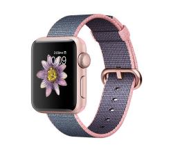 Apple Watch 2 38/RoseGold/LightPink/MidnightBlueWoven (MNP02MP/A)