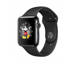 Apple Watch 2 42/Space Black Stainless Steel/Space Black (MP4A2MP/A)