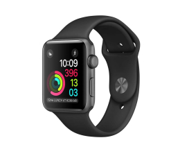 Apple Watch 2 42/Space Gray Aluminium/Black Sport Band (MP062MP/A)