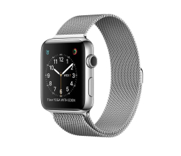 Apple Watch 2 42/Stainless Steel/Silver Milanese Loop (MNPU2MP/A)