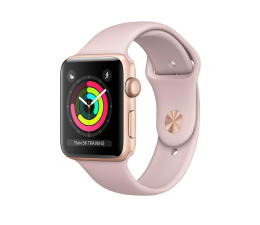 Apple Watch 3 42/Gold Aluminium/PinkSport GPS (MQL22MP/A)
