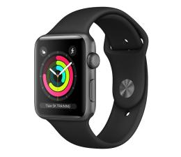 Apple Watch 3 42/Space Gray/Black Sport GPS (MTF32MP/A)
