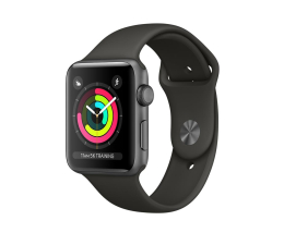 Apple Watch 3 42/SpaceGray Aluminium/Gray Sport GPS (MR362MP/A)