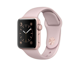 Apple Watch 38/Rose Gold Aluminium/Pink Sand Sport Band (MNNH2MP/A)