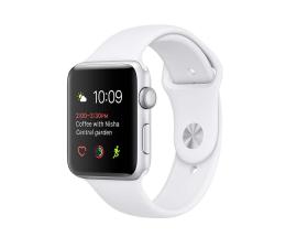 Apple Watch 38/Silver Aluminium/White Sport Band (MNNG2MP/A)