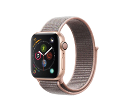 Apple Watch 4 40/Gold Aluminium/Pink Sport Lo GPS  (MU692WB/A)