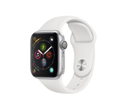 Apple Watch 4 40/Silver Aluminium/White Sport GPS  (MU642WB/A)