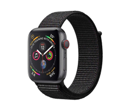 Apple Watch 4 40/SpaceGray Aluminium/BlackSport Loop LTE (MTVF2WB/A)