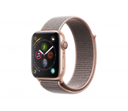 Apple Watch 4 44/Gold Aluminium/Pink Sport Lo GPS  (MU6G2WB/A)
