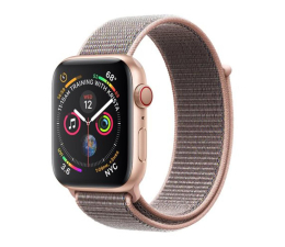 Apple Watch 4 44/Gold Aluminium/Pink Sport Loop LTE (MTVX2WB/A)