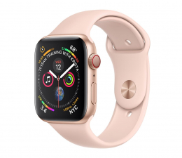 Apple Watch 4 44/Gold Aluminium/Pink Sport LTE (MTVW2WB/A)