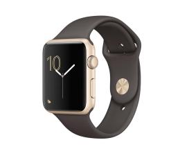 Apple Watch 42/Gold Aluminium/Cocoa Sport Band (MNNN2MP/A)