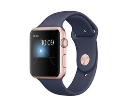 Apple Watch 42/Rose Gold Aluminium/Midnight Blue Sport (MNNM2MP/A)