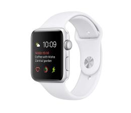 Apple Watch 42/Silver Aluminium/White Sport Band (MNNL2MP/A)