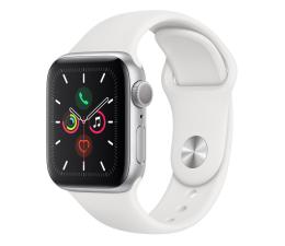 Apple Watch 5 40/Silver Aluminium/White Sport GPS (MWV62WB/A)