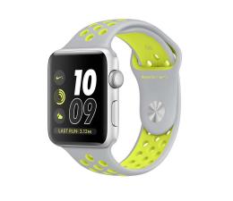 Apple Watch Nike+ 38/Silver Aluminium/Flat Silver/Volt (MNYP2MP/A)