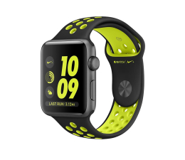 Apple Watch Nike+ 38/SpaceGrayAluminium/Black/Volt  (MP082MP/A)