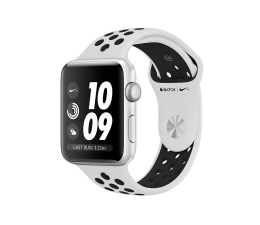 Apple Watch Nike+ 42/Silver Aluminium/Pure Platinum GPS (MQL32MP/A)