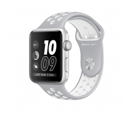 Apple Watch Nike+ 42/Silver Aluminium/White Sport (MQ192MP/A)