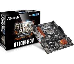 ASRock H110M-HDV (H110 PCI-E DDR4)