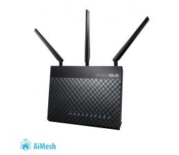 ASUS DSL-AC68U (1900Mb/s a/b/g/n/ac Aneks A/B, USB 3.0) (DSL-AC68U DualBand AC ADSL2+/VDSL2 (AiMesh))