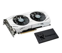 ASUS GeForce GTX 1060 Dual OC 6GB + Kingston 240GB A400