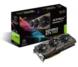 ASUS GeForce GTX 1060 Strix OC 6GB GDDR5  (STRIX-GTX1060-O6G-GAMING)
