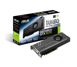 ASUS GeForce GTX 1070 TURBO 8GB GDDR5 (TURBO-GTX1070-8G)
