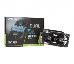 ASUS GeForce GTX 1660 Ti Dual OC 6GB GDDR6 (DUAL-GTX1660TI-O6G)