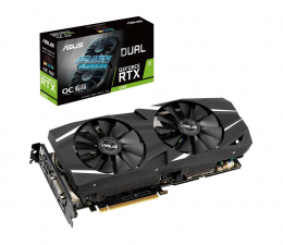 ASUS GeForce RTX 2060 DUAL OC 6GB GDDR6  (DUAL-RTX2060-O6G)