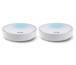 ASUS Lyra Mesh WiFi (2200Mb/s a/b/g/n/ac) zestaw 2szt.  (MAP-AC2200 (2-PK) MU-MIMO Tri-Band AC(AiMesh))
