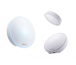 ASUS Lyra Mini Mesh (1300Mb/s a/b/g/n/ac) zestaw 3szt. (MAP-AC1300 (3-PK) MU-MIMO DualBand AC(AiMesh))