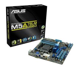 ASUS M5A78L-M/USB3 (760G VGA PCI-E DDR3)