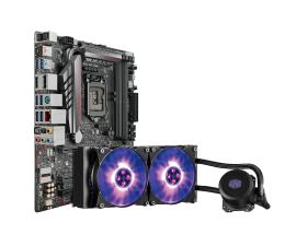 ASUS MAXIMUS VIII GENE + MasterLiquid ML240L RGB